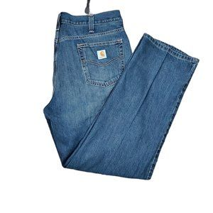 CARHARTT MENS  RELAXED FIT JEANS SIZE 40X32